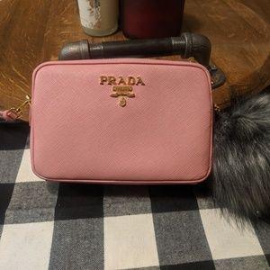 Authentic Prada mini camera bag!